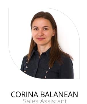 Corina Balanean Sales Assistant