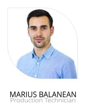 Marius Balanean Production Technician