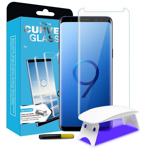 Tempered Glass - Ultra Smart Protection Liquid Loca Samsung Galaxy S9 imagine