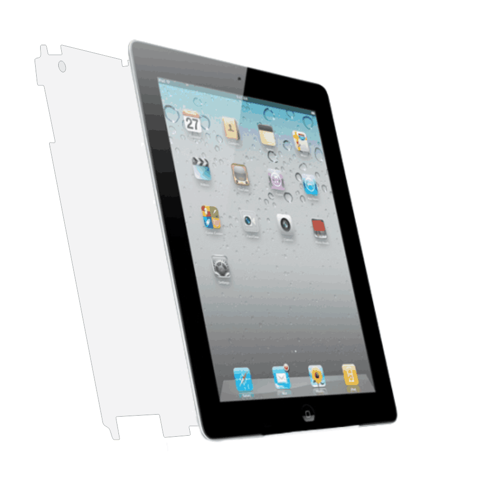 Folie de protectie Smart Protection Apple iPad 2 9.7 - doar spate imagine