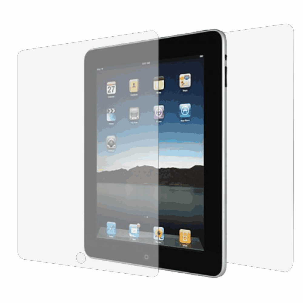 Folie de protectie Smart Protection Apple iPad Wi-Fi 9.7 - fullbody-display-si-spate imagine