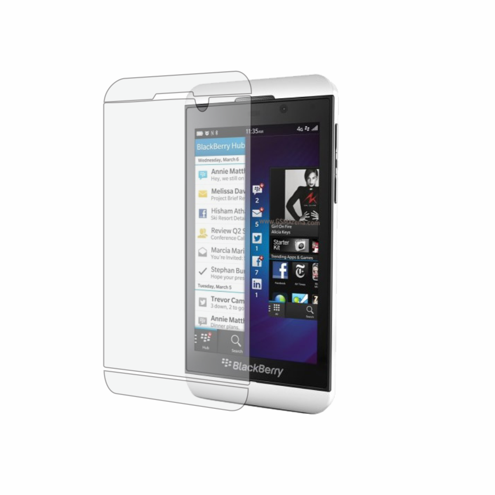 Folie de protectie Smart Protection BlackBerry Z10 - doar-display imagine