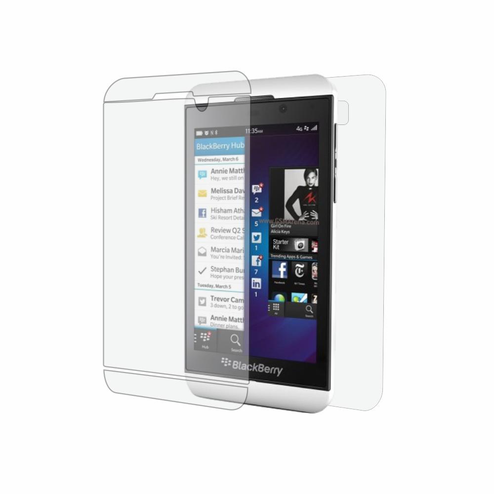 Folie de protectie Smart Protection BlackBerry Z10 - fullbody-display-si-spate imagine