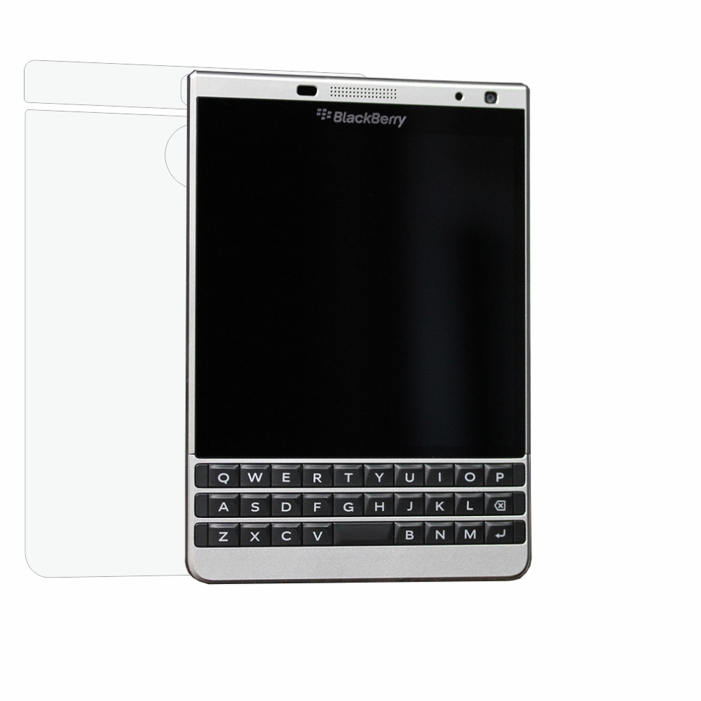 Folie de protectie Smart Protection BlackBerry Passport Silver Edition - doar spate imagine
