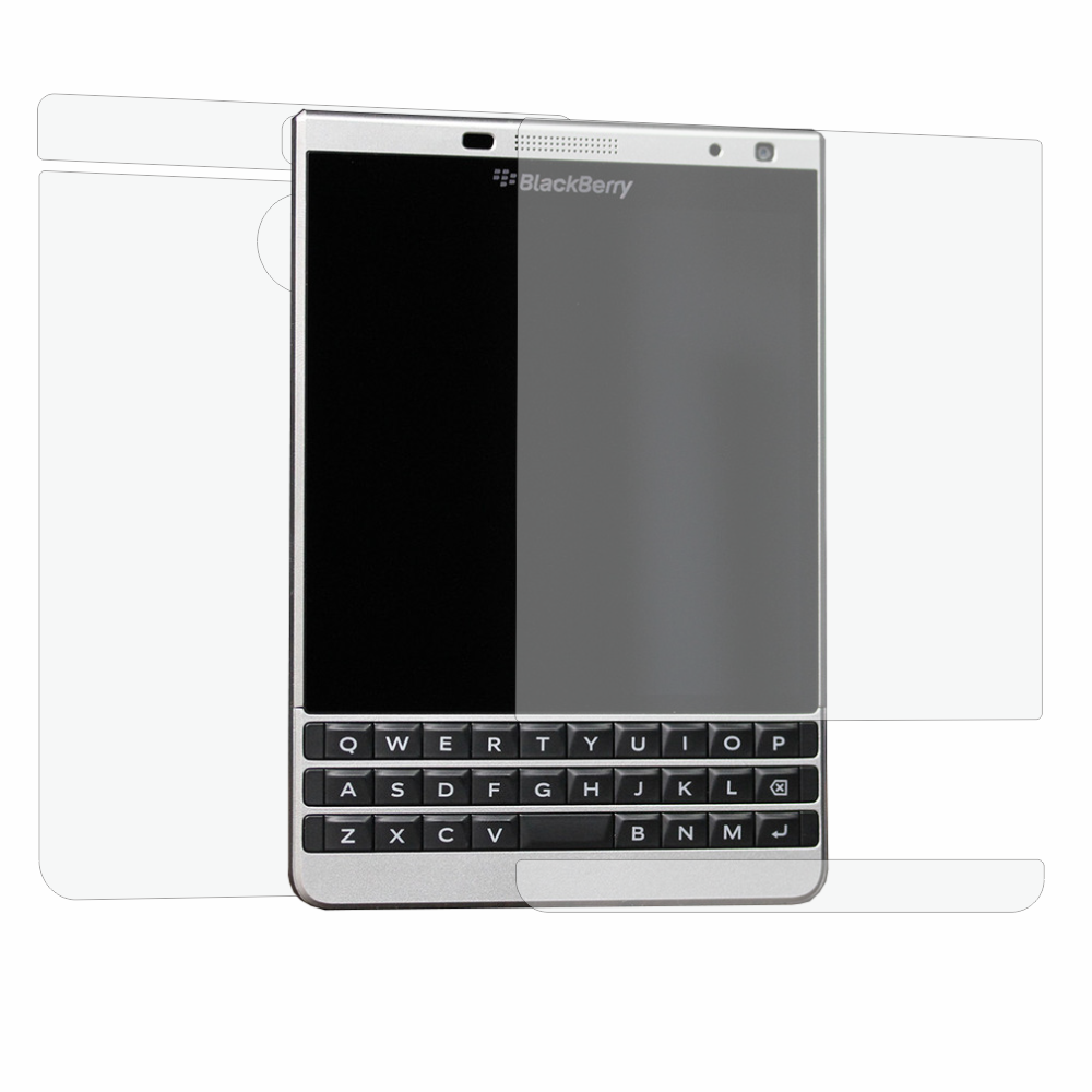 Folie de protectie Smart Protection BlackBerry Passport Silver Edition - fullbody-display-si-spate imagine