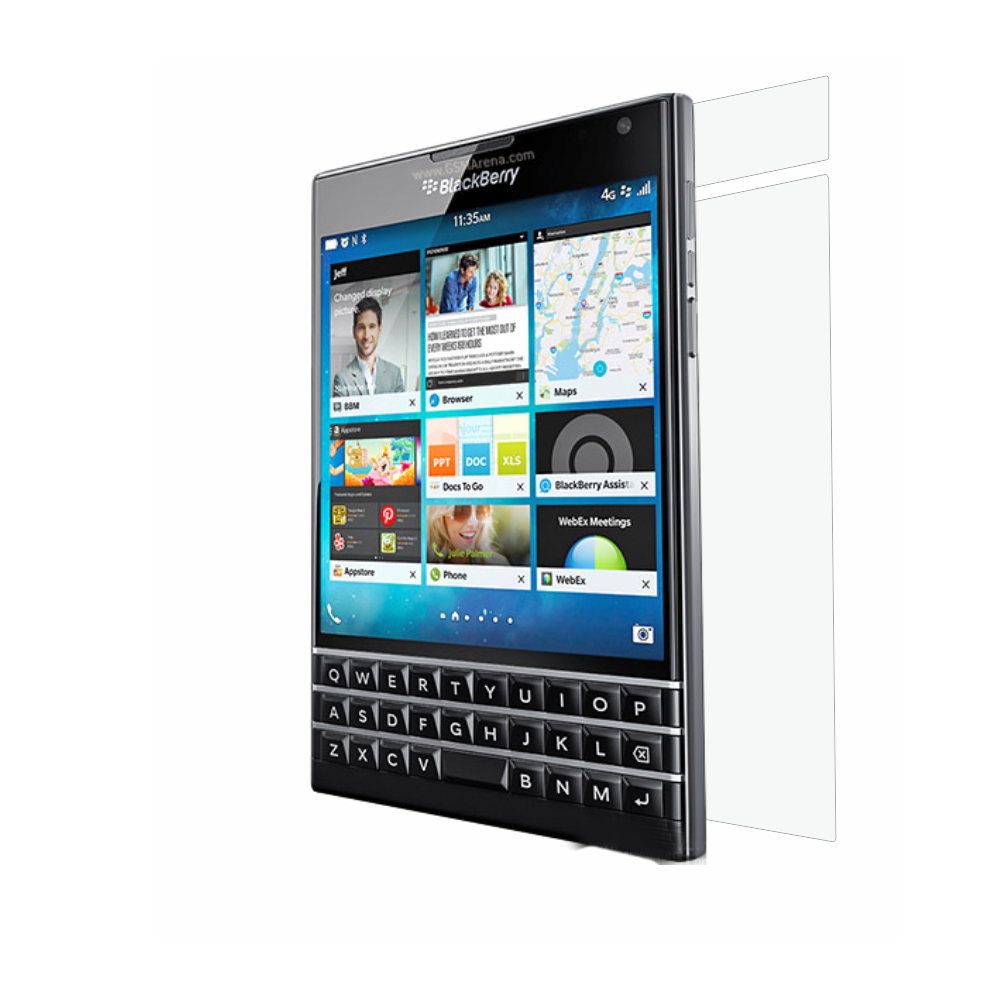 Folie de protectie Smart Protection BlackBerry Passport - doar spate imagine