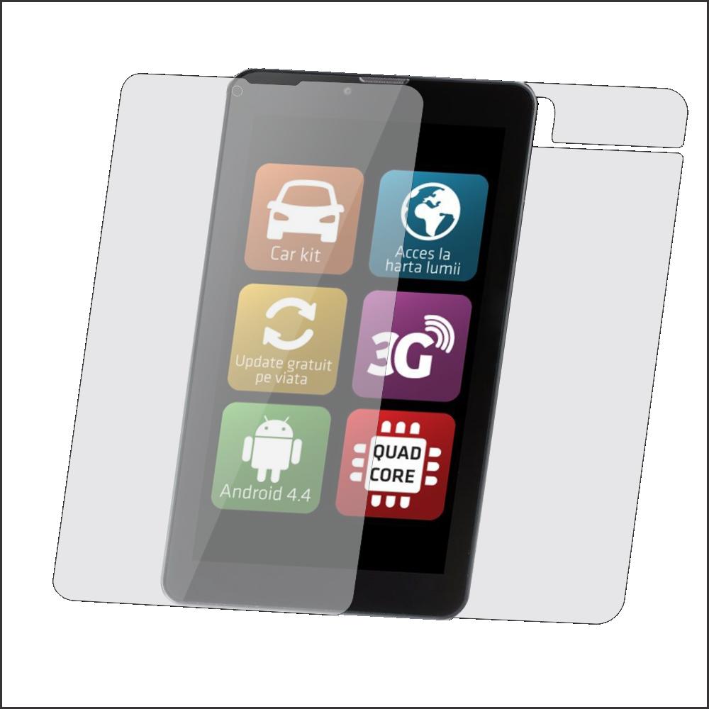 Folie de protectie Smart Protection Tableta Evolio Go Fun 3G 7.0 - fullbody-display-si-spate imagine