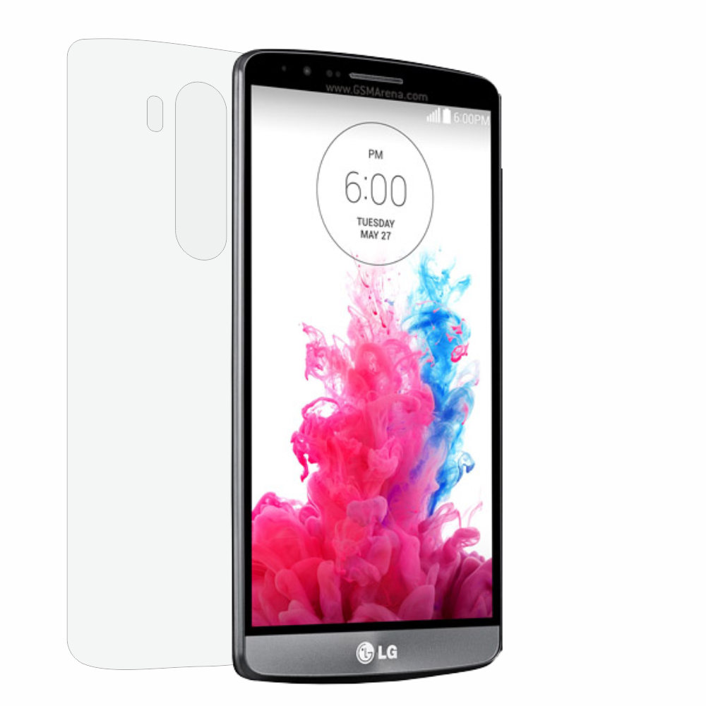 Folie de protectie Smart Protection LG G3 - doar spate imagine