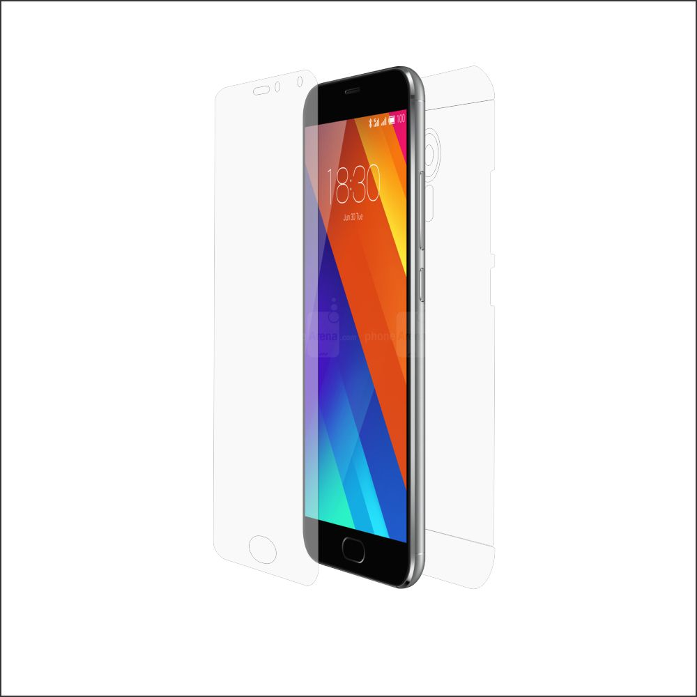 Folie de protectie Smart Protection Meizu MX5 - fullbody-display-si-spate imagine