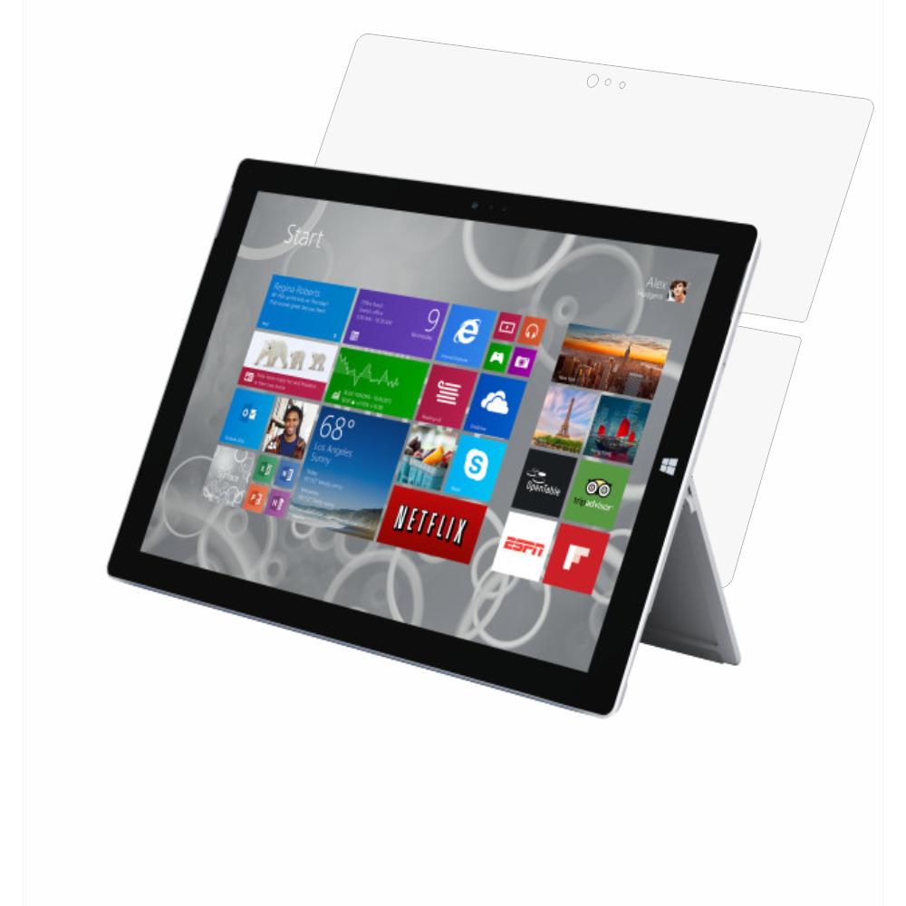 Folie de protectie Smart Protection Tableta Surface Pro 3 12.0 - doar spate imagine