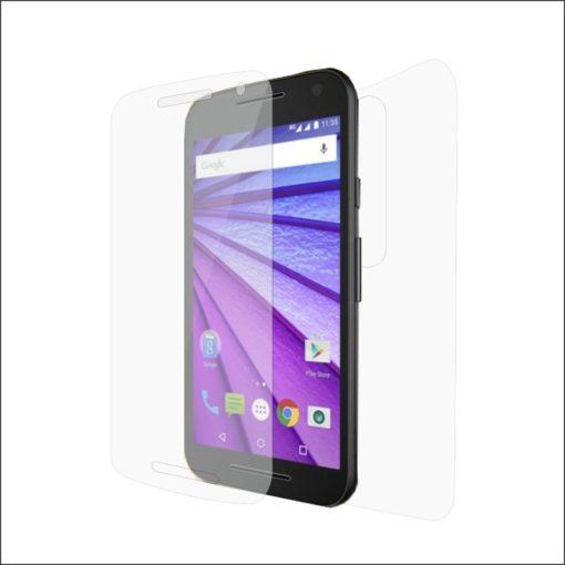 Folie de protectie Clasic Smart Protection Motorola Moto G3