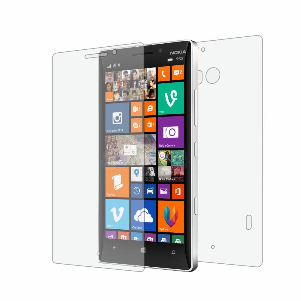 Folie de protectie Smart Protection Nokia Lumia 930 - fullbody-display-si-spate imagine