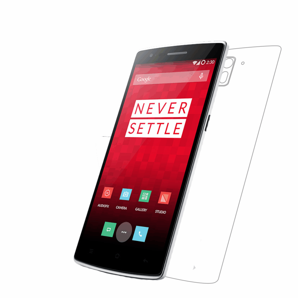 Folie de protectie Smart Protection OnePlus One - doar spate imagine