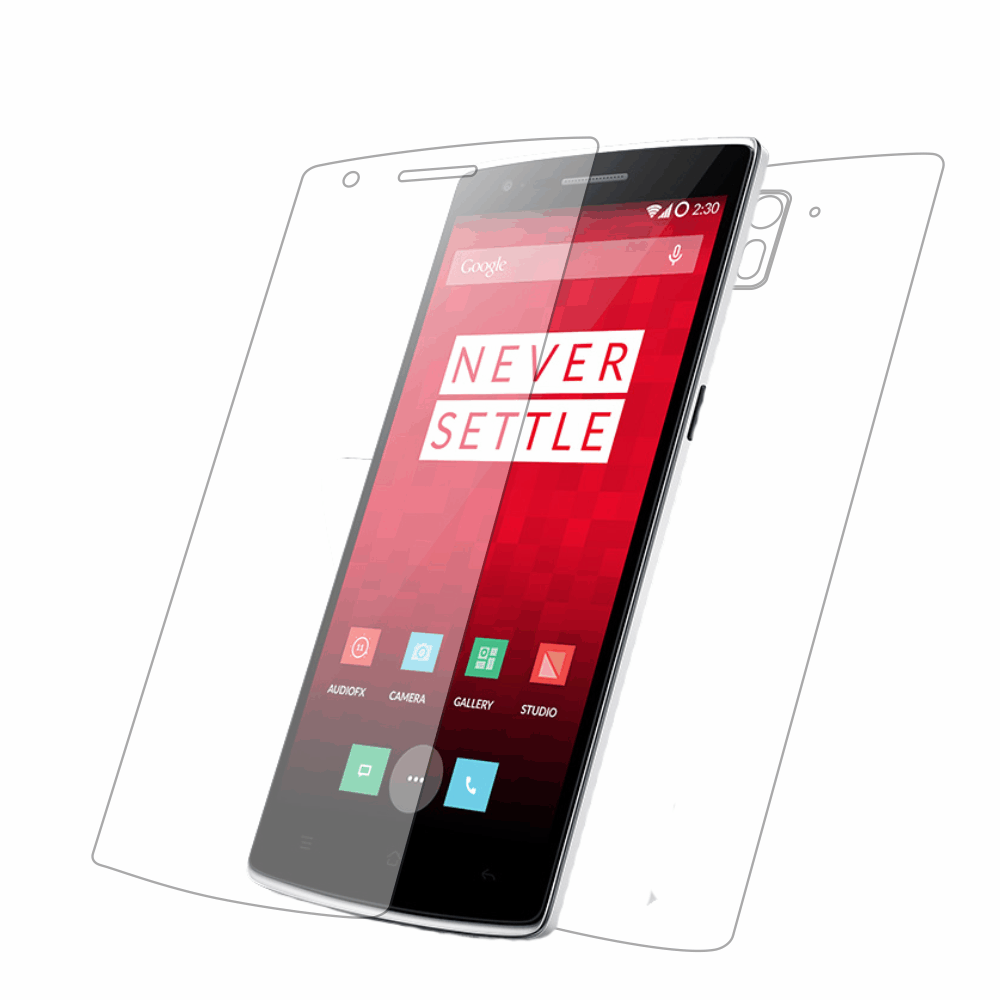 Folie de protectie Smart Protection OnePlus One - fullbody-display-si-spate imagine
