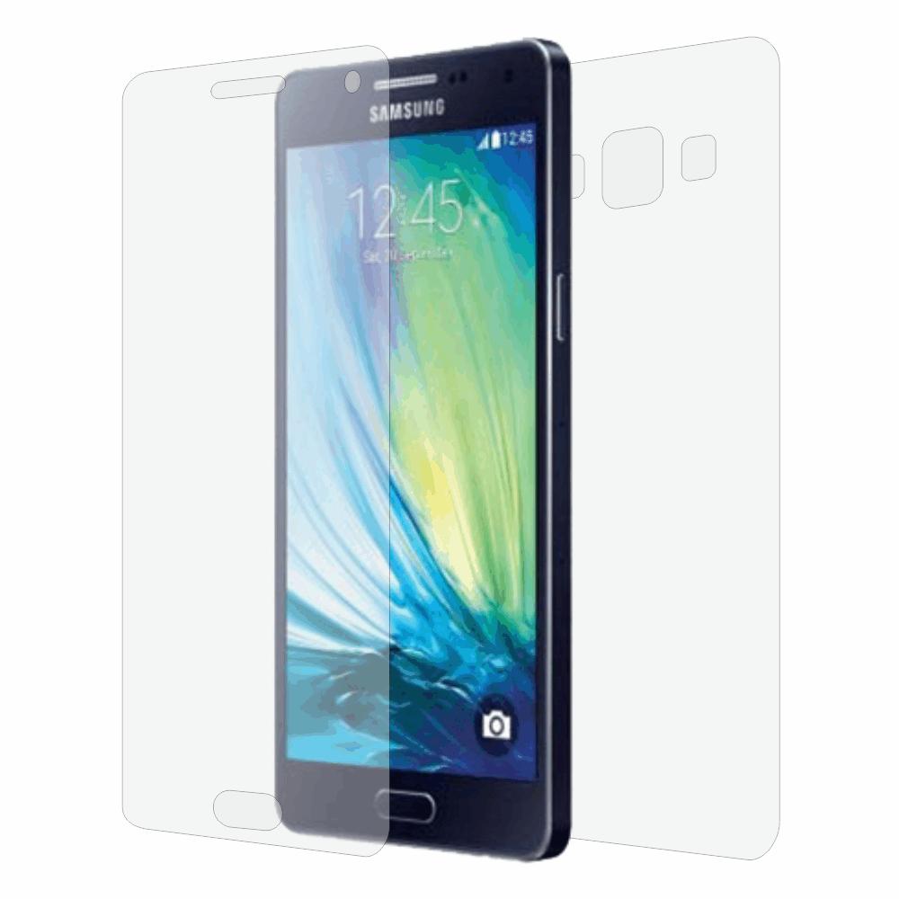Folie de protectie Smart Protection Samsung Galaxy A3 - fullbody-display-si-spate imagine