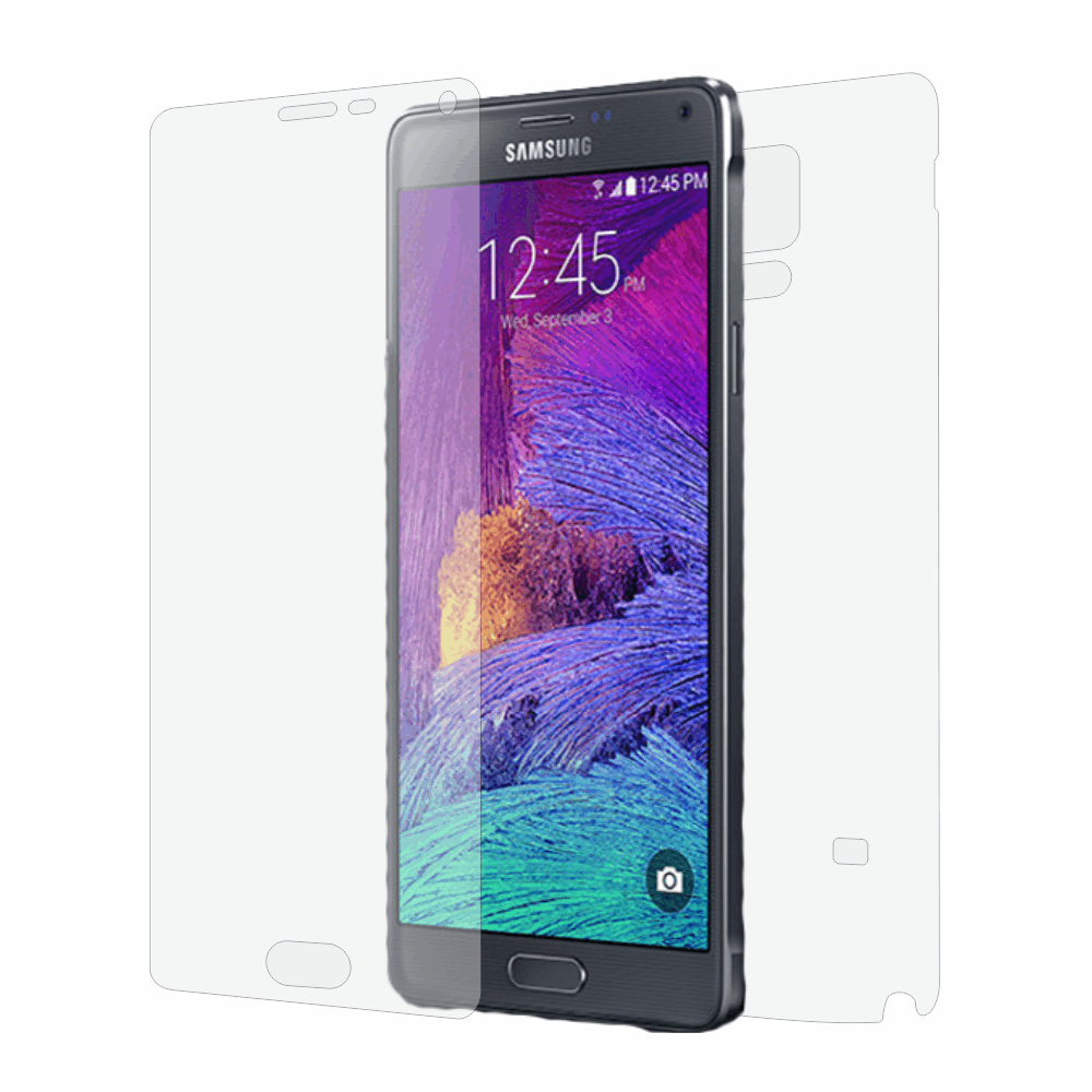 Folie de protectie Smart Protection Samsung Galaxy Note 4 - fullbody-display-si-spate imagine