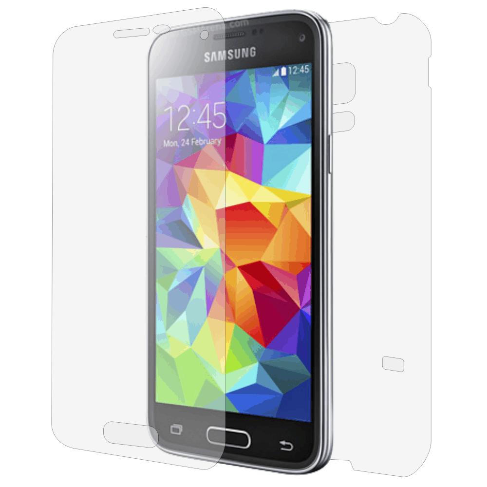 Folie de protectie Smart Protection Samsung Galaxy S5 Mini Dualsim - fullbody-display-si-spate imagine