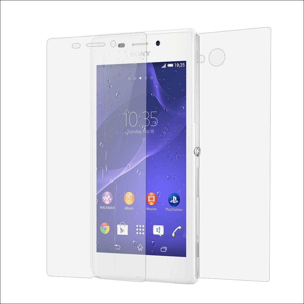 Folie de protectie Smart Protection Sony Xperia M2 - fullbody-display-si-spate imagine