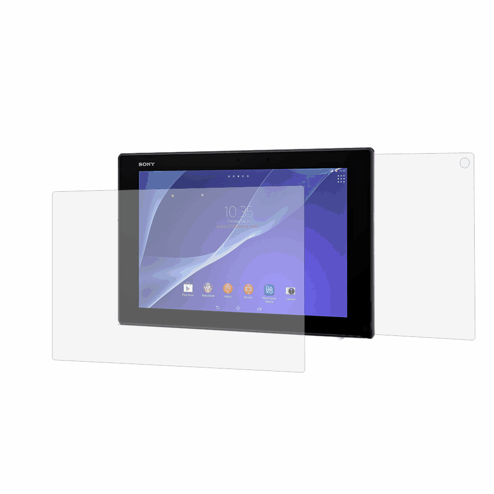 Folie de protectie Smart Protection Tableta Sony Xperia Z2 LTE 10.1 - fullbody-display-si-spate imagine