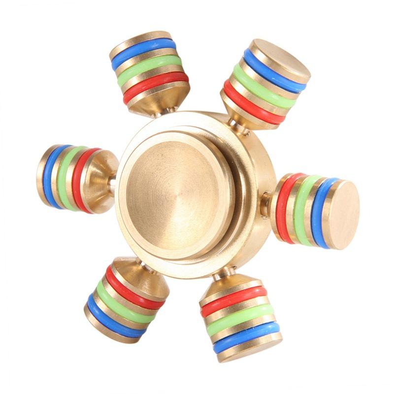 Jucarie Smart Antistres Fidget Spinner demontabil cu 6 brate imagine