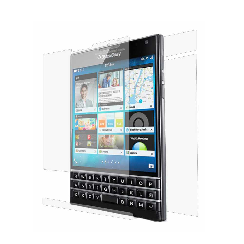 Folie de protectie Smart Protection BlackBerry Passport - fullbody-display-si-spate imagine