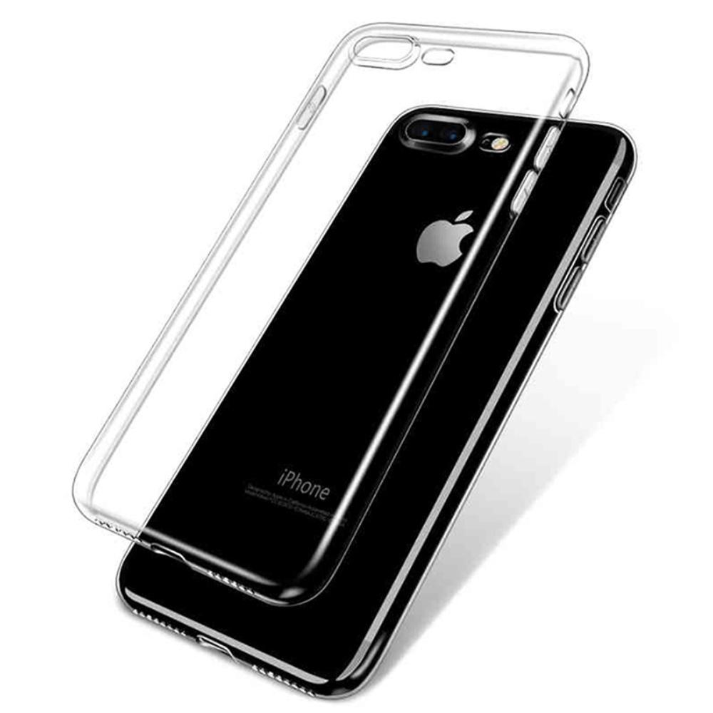 Carcasa din silicon transparenta pentru iPhone 7/8 Plus imagine