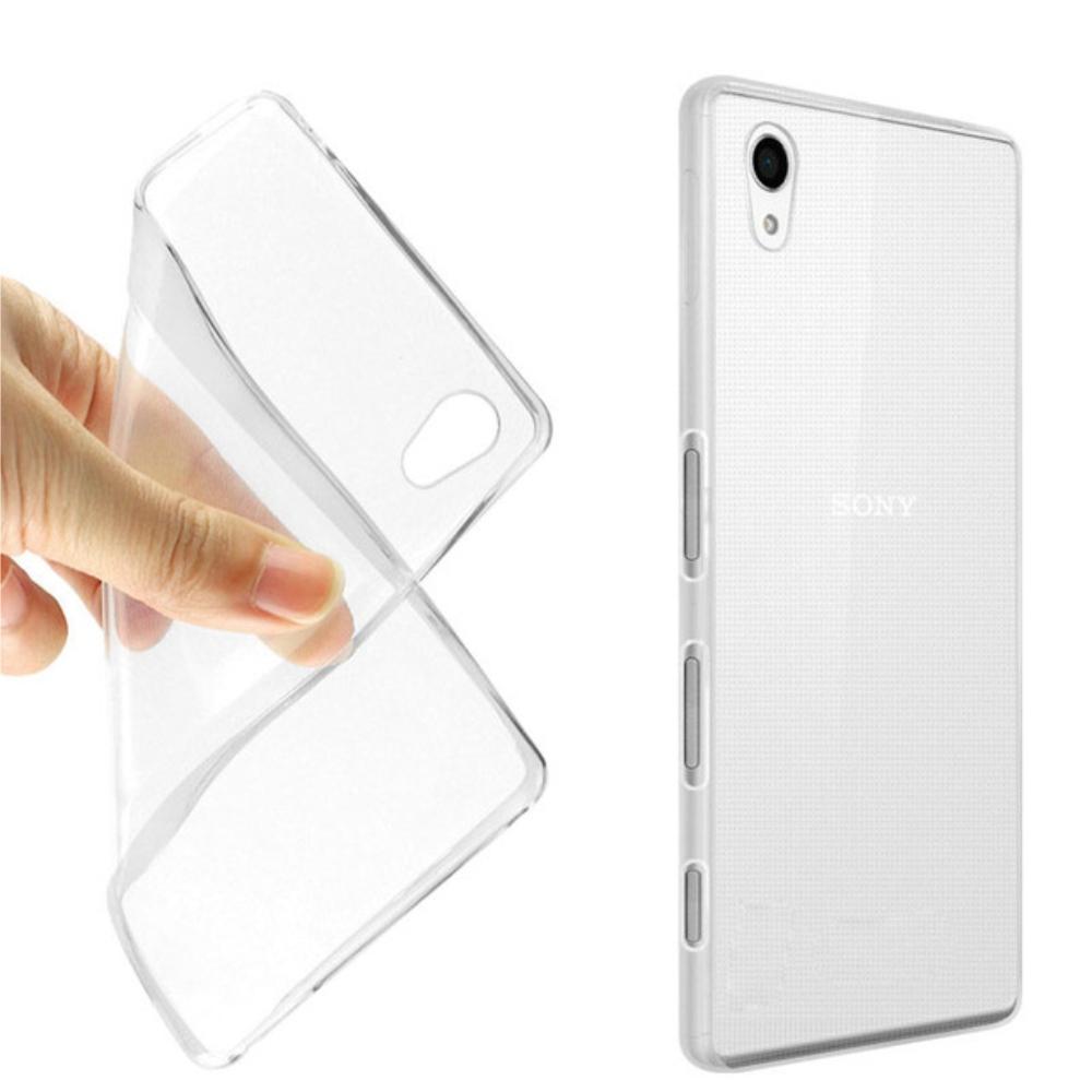 Carcasa din silicon transparenta pentru Sony Xperia XA imagine