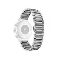 Curea metalica argintie pentru Huawei Watch W2 cu prindere tip fluture