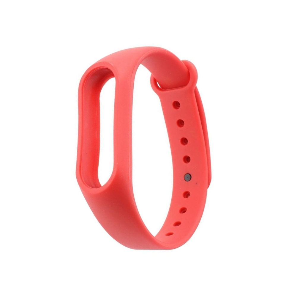 Curea Xiaomi Mi Band 2 silicon rosu imagine