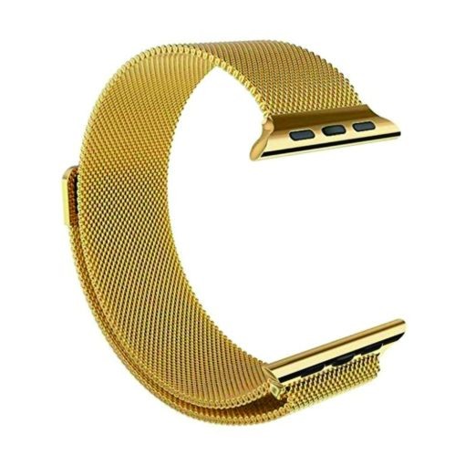 Curea metalica gold pentru Apple Watch Series 1 / 2 / 3 / 4 38mm