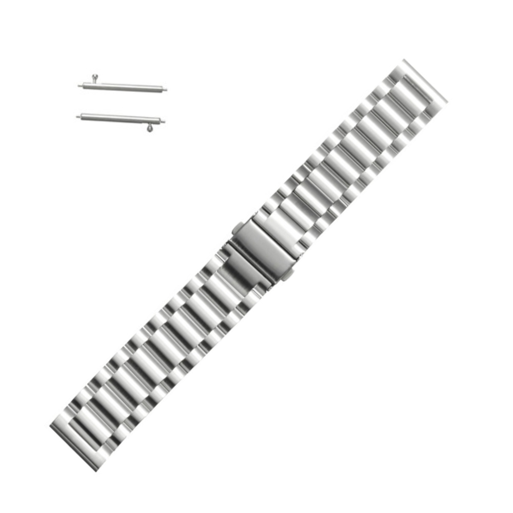 Curea Metalica Argintie Pentru Samsung Gear S3 Classic / Frontier Si Vector Luna / Meridian