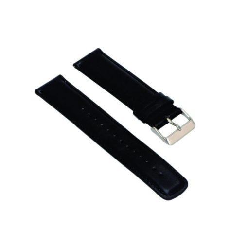 Curea neagra din piele pentru Huawei Watch W2 Sport (Default)