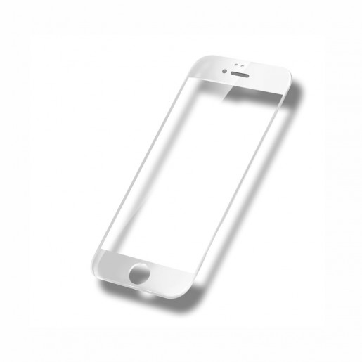 Tempered Glass - Ultra Smart Protection Iphone 6 Plus fulldisplay alb - Ultra Smart Protection Display imagine