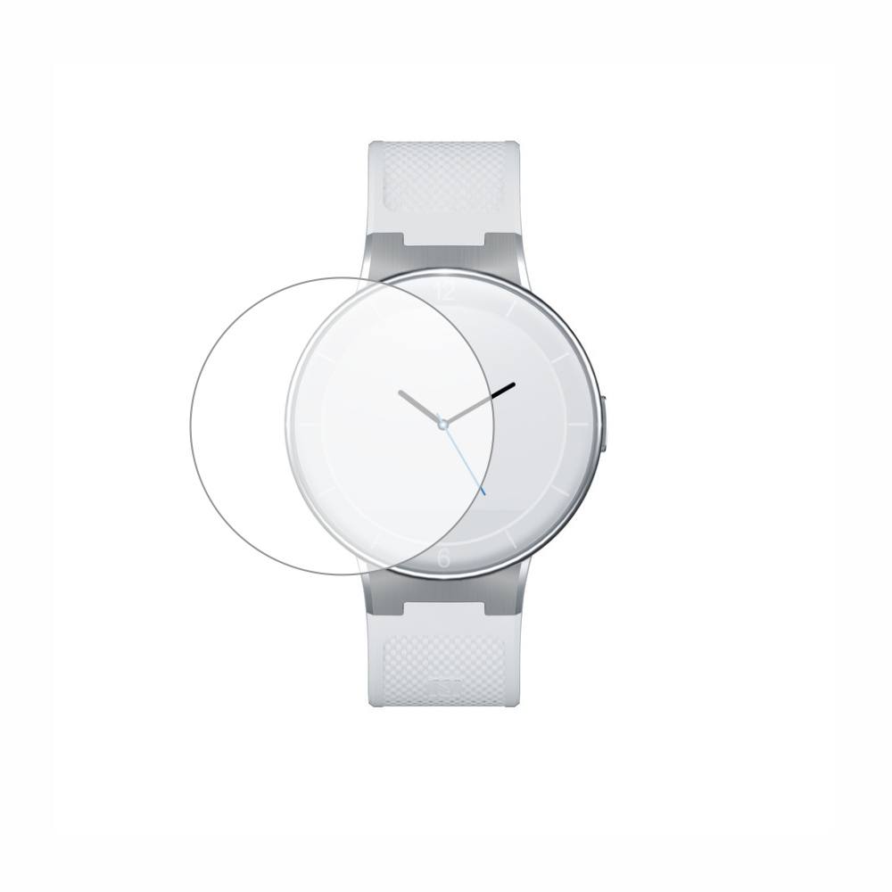 Folie de protectie Smart Protection Alcatel Smartwatch SM02 - 2buc x folie display imagine