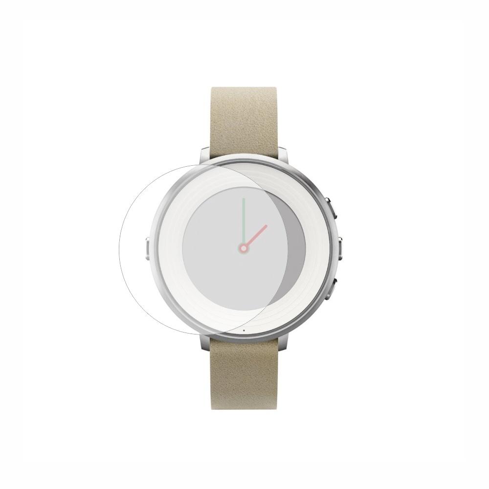 Folie de protectie Smart Protection Smartwatch Pebble Time Round - 2buc x folie display imagine