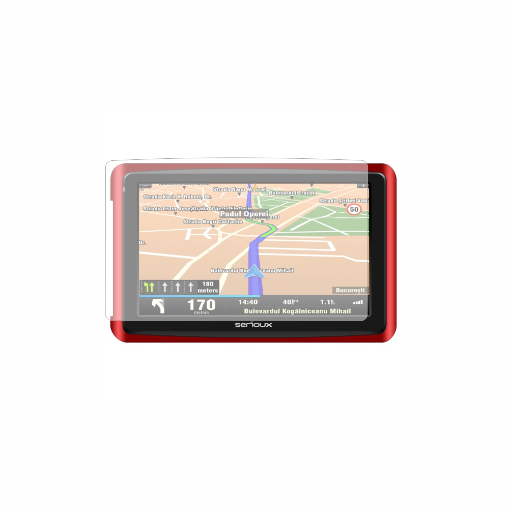Folie de protectie Smart Protection GPS Serioux GlobalTrotter GT500 - 2buc x folie display imagine