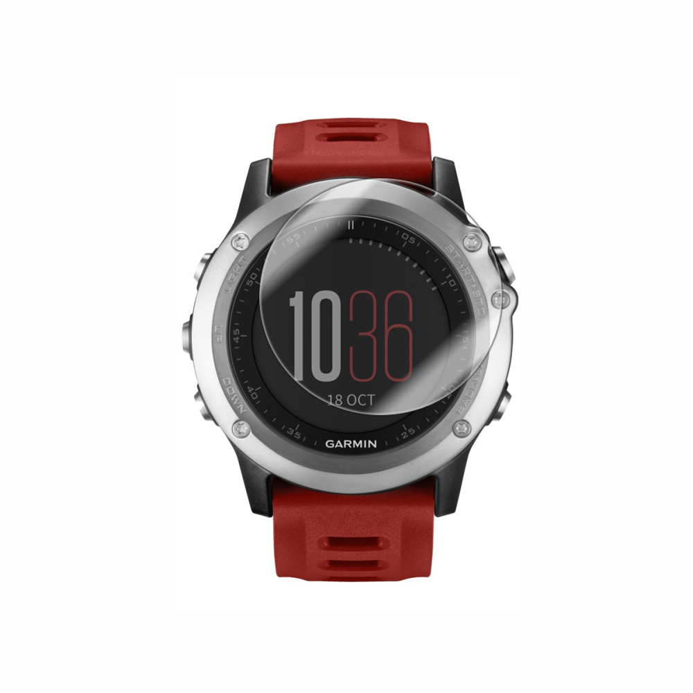 Folie de protectie Smart Protection Smartwatch Garmin Fenix 3 - 2buc x folie display imagine