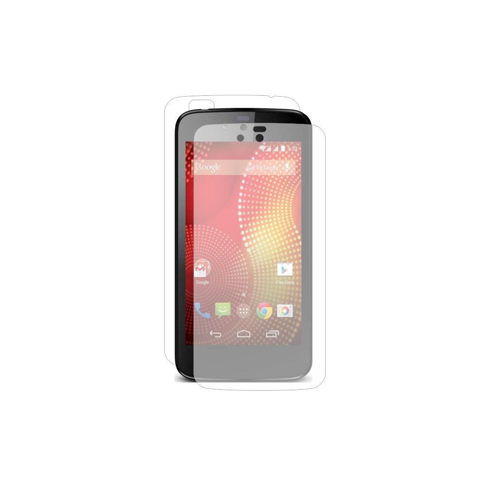 Folie de protectie Smart Protection Karbonn Sparkle V - fullbody-display-si-spate imagine