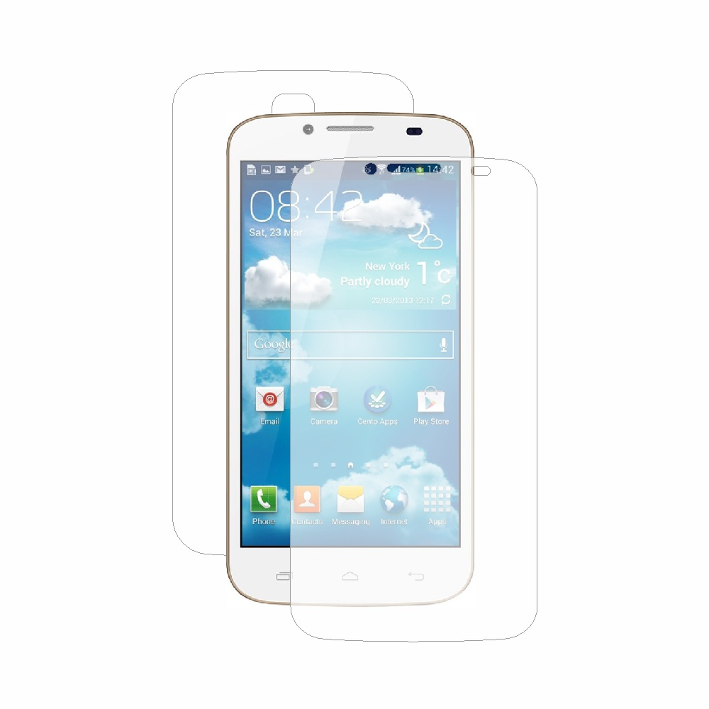 Folie de protectie Smart Protection Karbonn Titanium S6 - fullbody-display-si-spate imagine