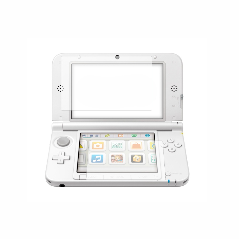 Folie de protectie Smart Protection Consola Nintendo 3DS XL - 2buc x folie display imagine