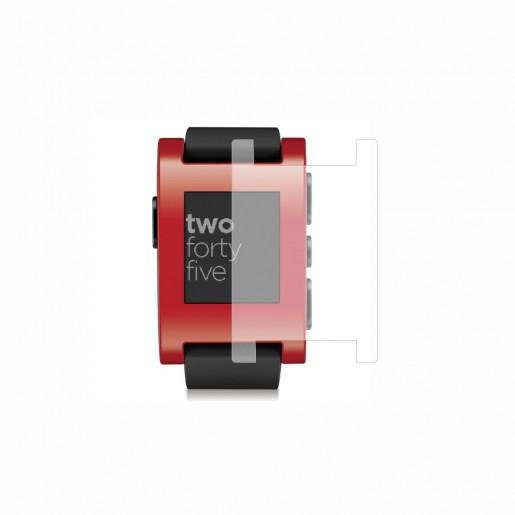 Folie de protectie Smart Protection Smartwatch Pebble 301RD - 2buc x folie display imagine