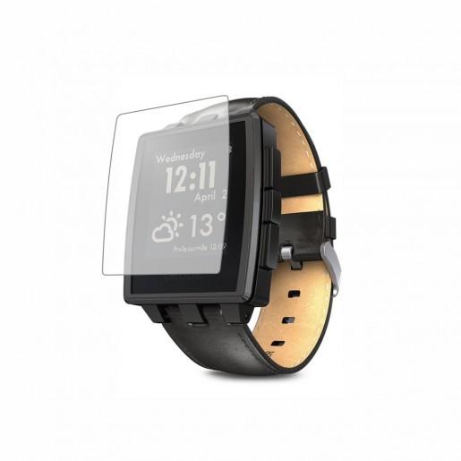 Folie de protectie Smart Protection Smartwatch Pebble Steel - 4buc x folie display imagine