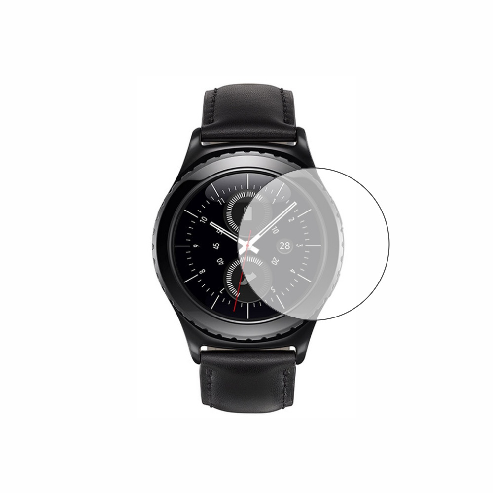 Folie de protectie Smart Protection Smartwatch Samsung Gear S2 Classic - 4buc x folie display imagine