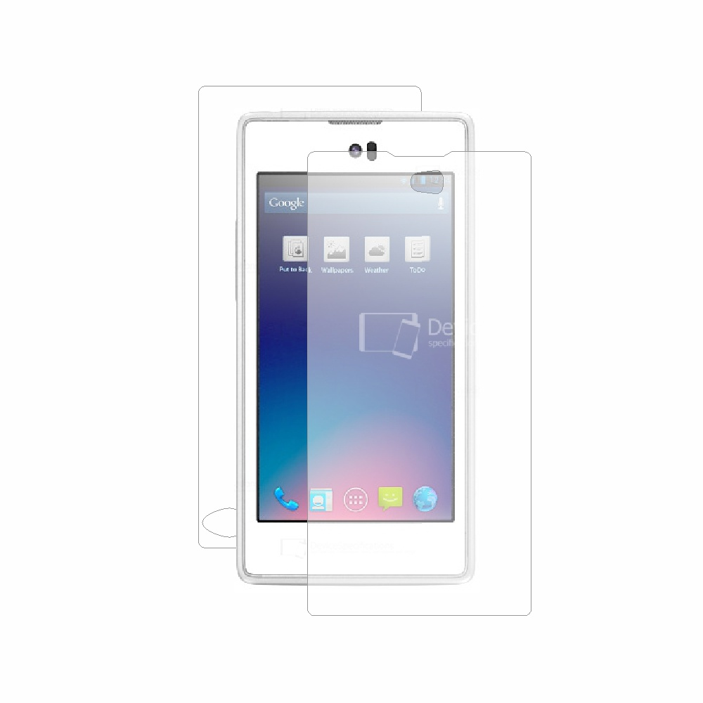 Folie de protectie Smart Protection Yota YotaPhone C9660 - fullbody-display-si-spate imagine