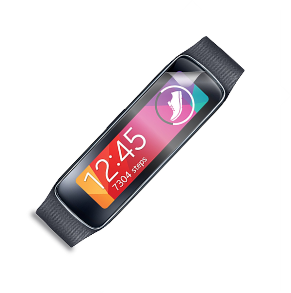 Folie de protectie Smart Protection SmartWatch Samsung Galaxy Gear Fit - 2buc x folie display imagine
