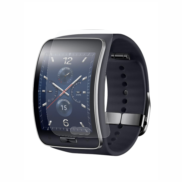 Folie de protectie Smart Protection Smartwatch Samsung Gear S - 2buc x folie display imagine