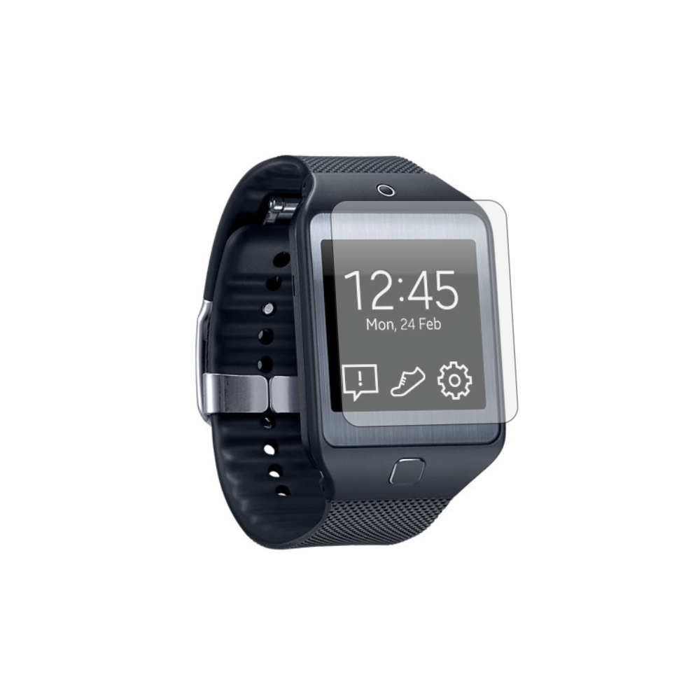 Folie de protectie Smart Protection Smartwatch Samsung Gear 2 NEO - 4buc x folie display imagine