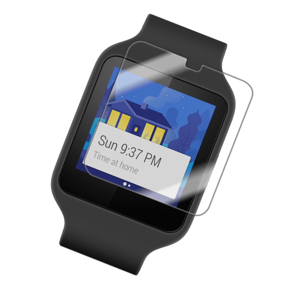 Folie de protectie Smart Protection Sony SmartWatch 3 - 4buc x folie display imagine