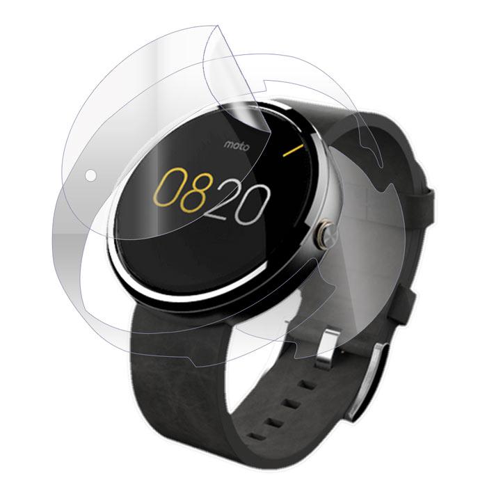 Folie de protectie Smart Protection Motorola Moto 360 1st Gen - fullbody - display + spate + laterale imagine