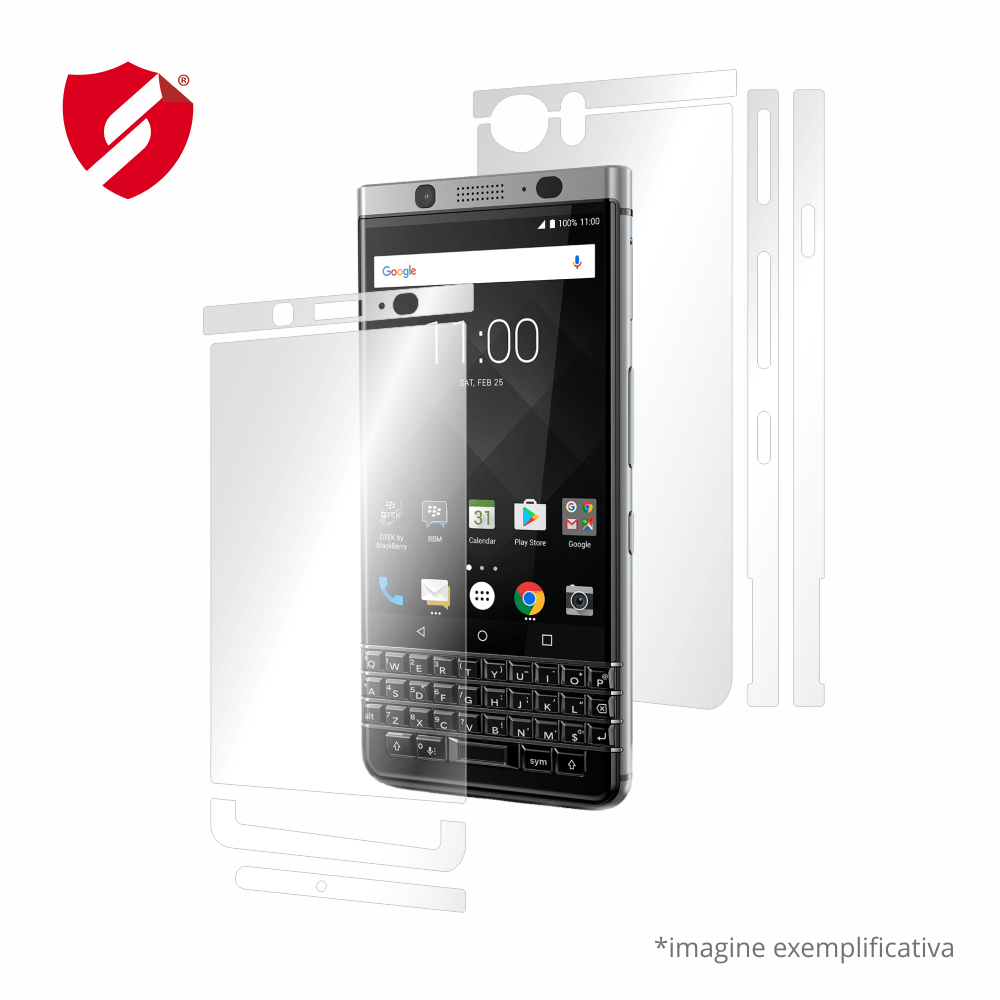 Folie de protectie Smart Protection Blackberry KEYOne - fullbody - display + spate + laterale imagine